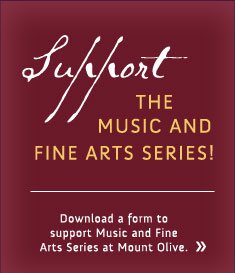 Support the Music and Fine Arts Series!